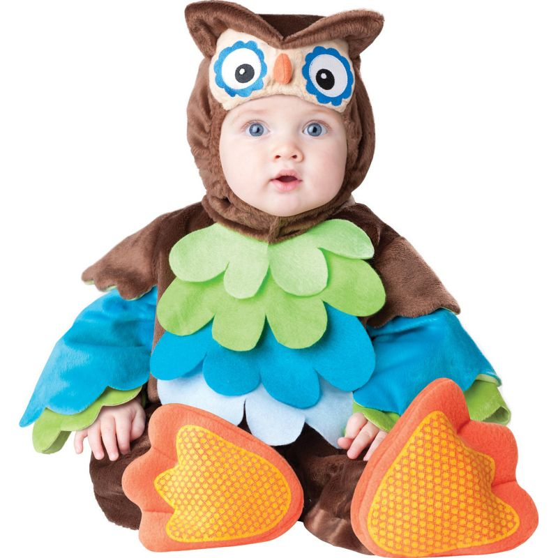 Owl Costume - Baby/Toddler (Brown)