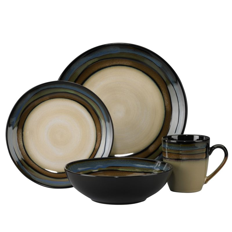 Pfaltzgraff Everyday Galaxy 16-pc. Dinnerware Set 93187143