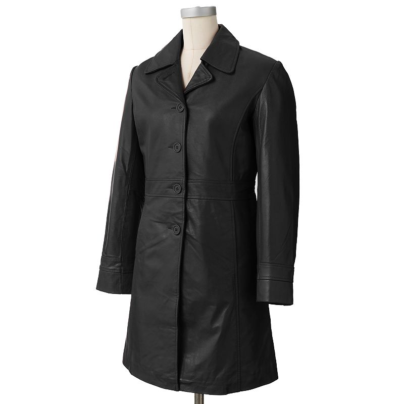 Women's Excelled Leather Walker Coat
