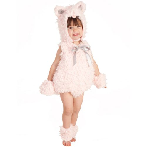 Pink Shaggy Kitty Costume - Baby/Toddler