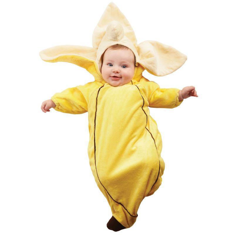 Banana Bunting Costume - Baby (Yellow)