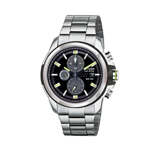 Drive from Citizen Eco-Drive Men's Stainless Steel Chronograph Watch - CA0428-56E