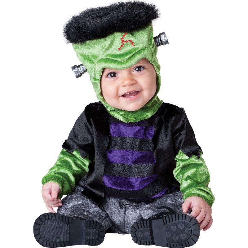 Monster-BOO Frankenstein Costume - Baby/Toddler (Black)