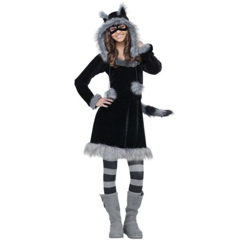 Sweet Raccoon Costume - Teen