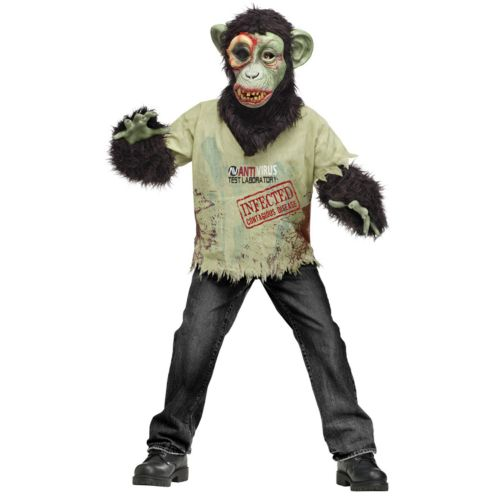 Zombie Chimp Costume - Kids