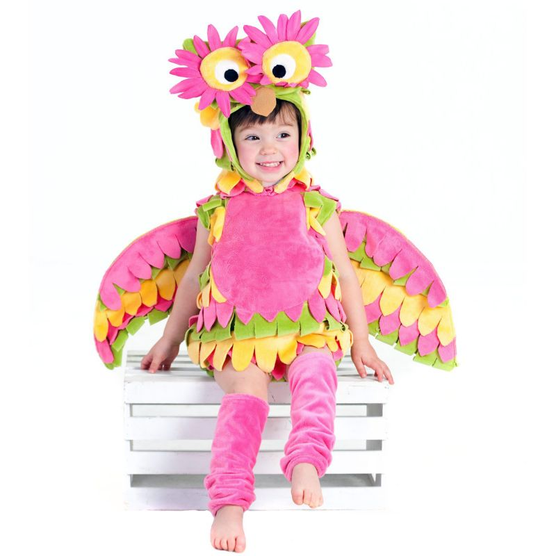 Holly the Owl Costume - Baby/Toddler (Pink)