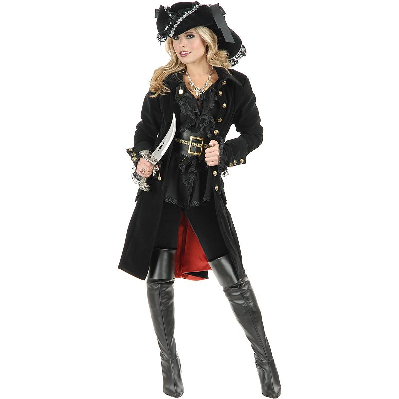 Pirate Vixen Coat Costume - Adult