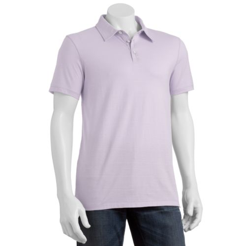 Marc Anthony Slim-Fit Textured Polo - Men