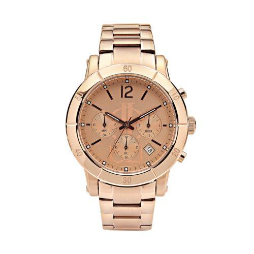 Jennifer Lopez Women's Stainless Steel Chronograph Watch