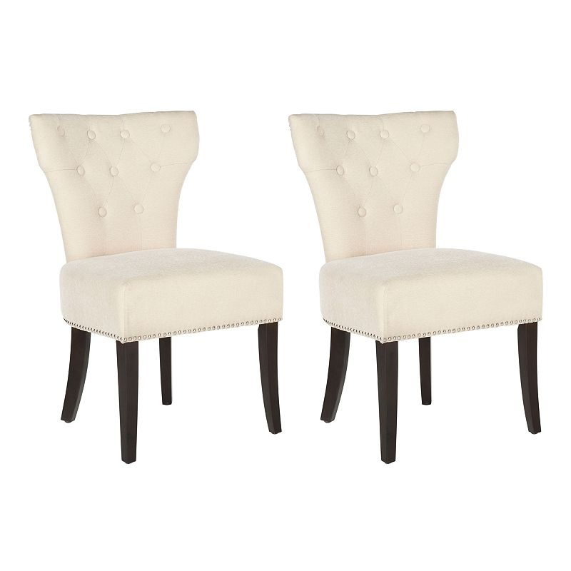 Safavieh 2-pc. Jappic Button Tufted Side Chair Set