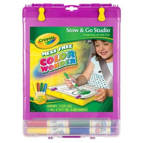 Crayola Color Wonder Stow and Go Studio