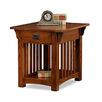 Leick Furniture Mission Sienna End Table