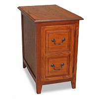 Leick Furniture Shaker Cabinet End Table