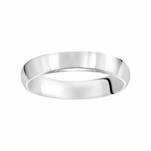 Cherish Always 14k White Gold Wedding Band - Men