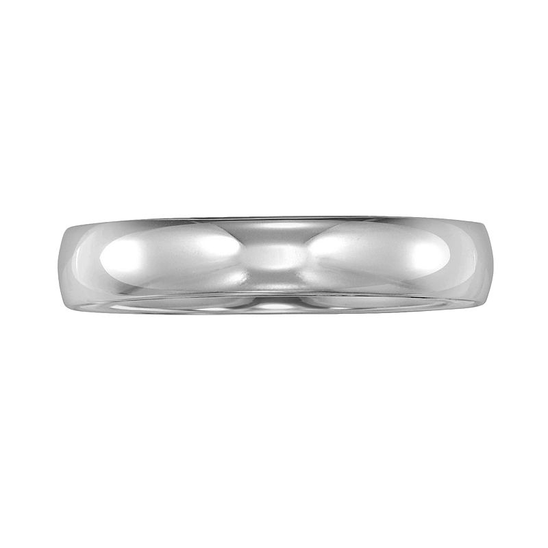 Cherish Always 14k White Gold Wedding Band