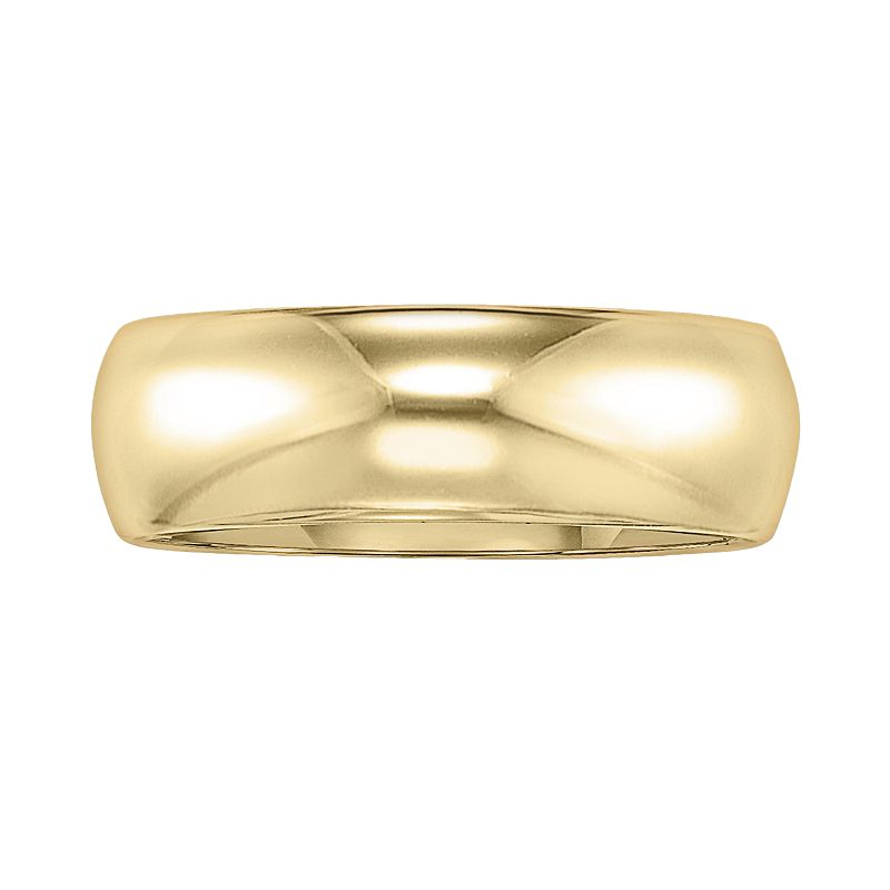 Cherish Always 14k Gold Wedding Band Ring