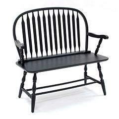 Carolina Cottage Windsor Bench by