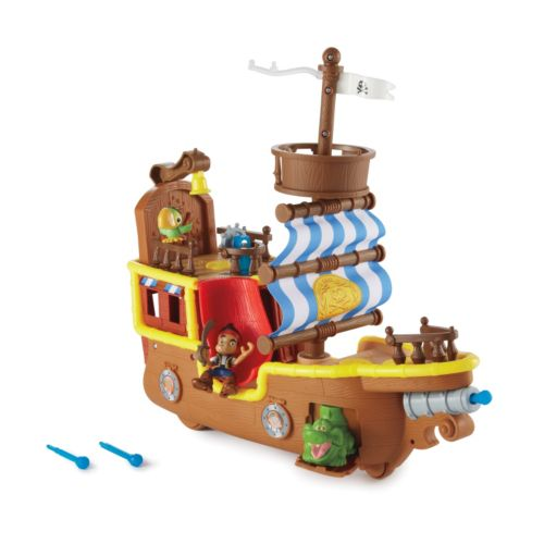 Disney Jake and the Never Land Pirates Jake's Musical Pirate Ship Bucky by Fisher-Price