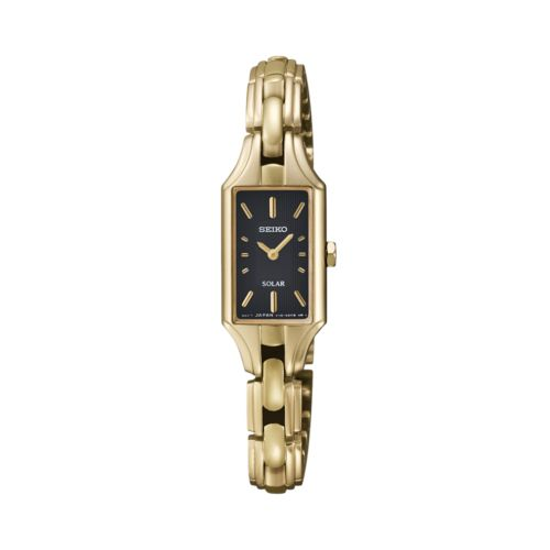 Seiko Gold Tone Solar Watch - SUP166 - Women