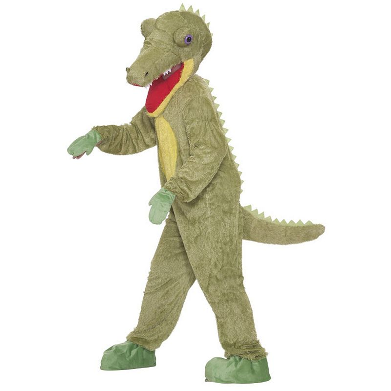 Crocodile Plush Costume - Adult