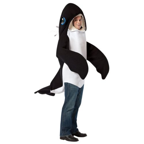 Killer Whale Costume - Adult