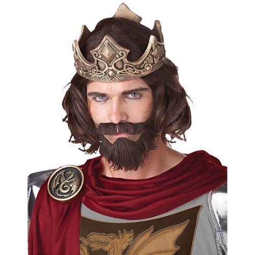 Medieval King Wig - Adult