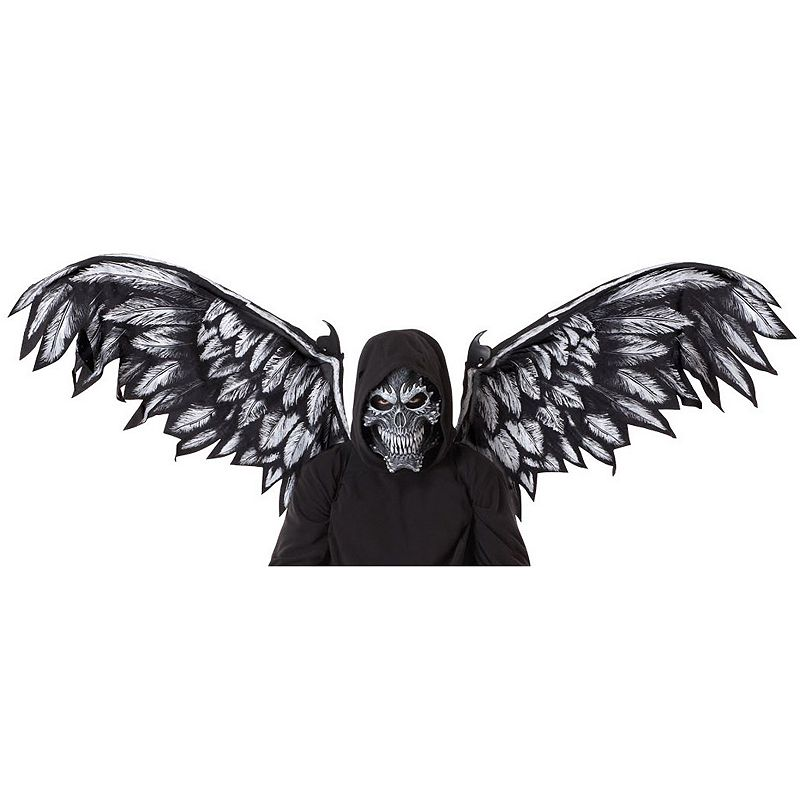 Fallen Angel Mask and Wings Kit - Adult