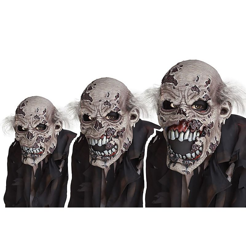 Zombie Ani-Motion Mask - Adult