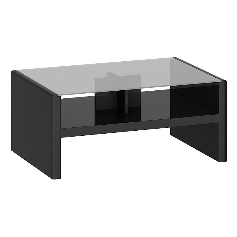 kathy ireland office by bush furniture new york skyline coffee table