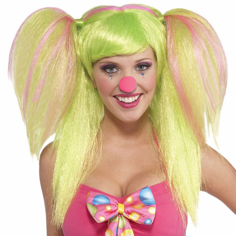 Circus Sweetie Costume Wig - Adult