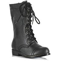 Combat Costume Boots - Kids