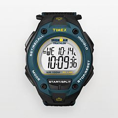 Timex Men's Ironman Triathlon 30-Lap Digital Chronograph Watch T5K413KZ