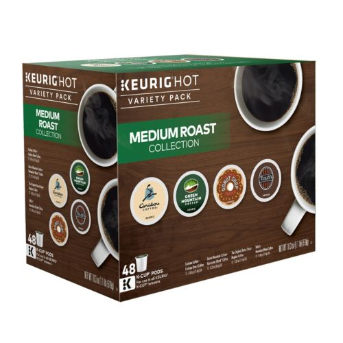 Keurig® K-Cup® Pod Medium Roast Coffee Variety Pack - 48-pk.