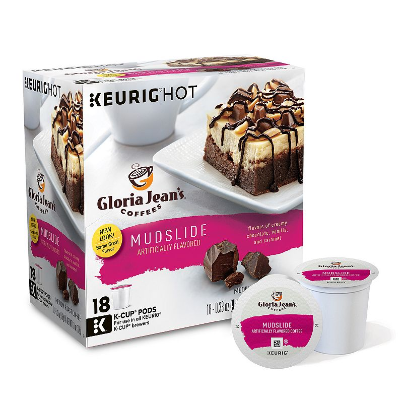 Keurig® K-Cup® Pod Gloria Jean's Coffees Mudslide Coffee - 18-pk.