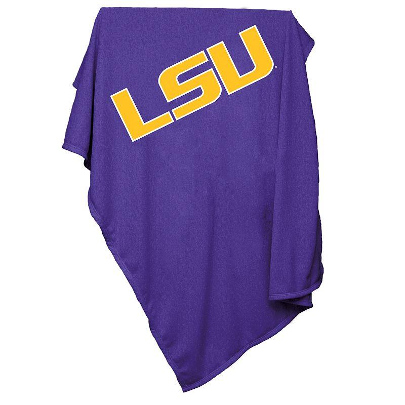 LSU Tigers Sweatshirt Blanket