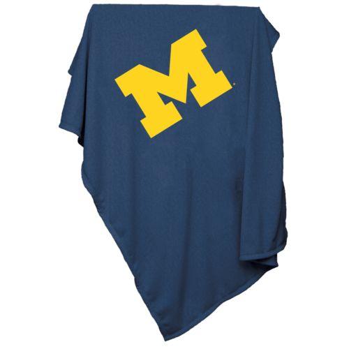 Michigan Wolverines Sweatshirt Blanket