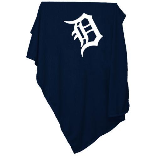Detroit Tigers Sweatshirt Blanket