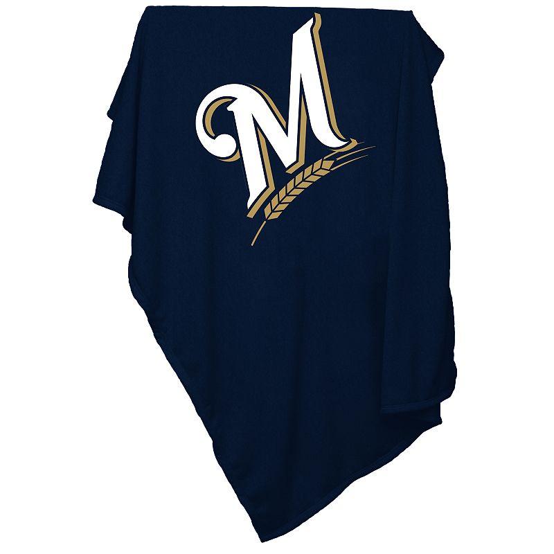 Milwaukee Brewers Sweatshirt Blanket
