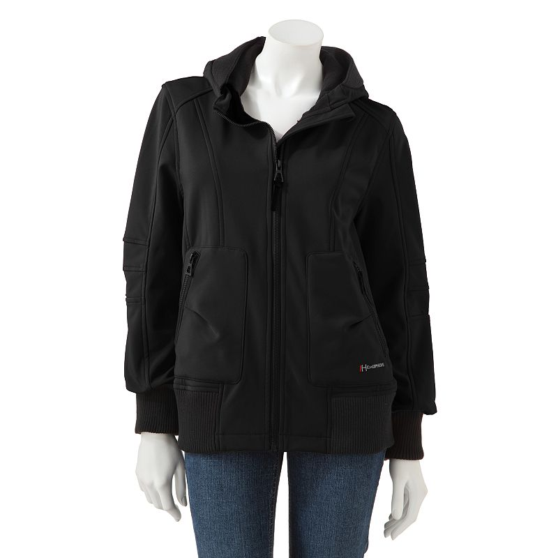 Hemisphere Hooded Soft Shell Jacket