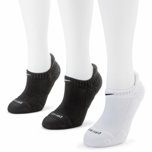 Nike 3-pk. Dri-FIT Cushioned No-Show Tab Socks