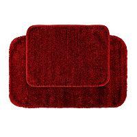 Garland Deco Plush 2-pc. Bath Rug Set