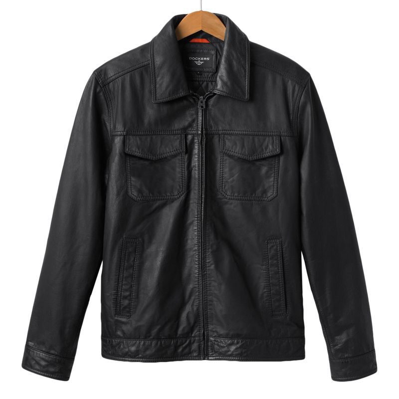 Dockers leather jackets