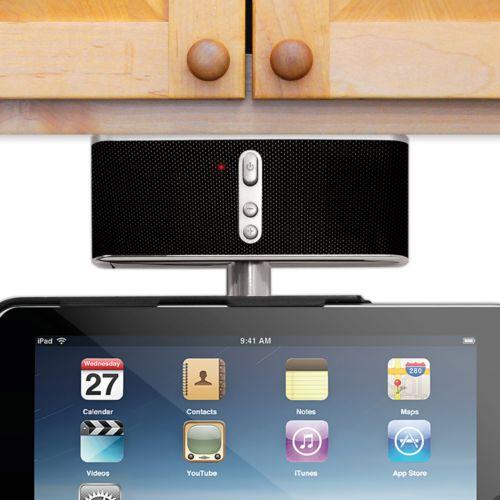 Innovative Technology Under-Cabinet iPad Speaker System