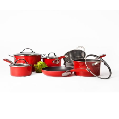 Cat Cora by Starfrit 10-pc. Forged Nonstick Cookware Set