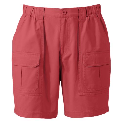 Croft & Barrow® Side Elastic Twill Cargo Shorts - Men