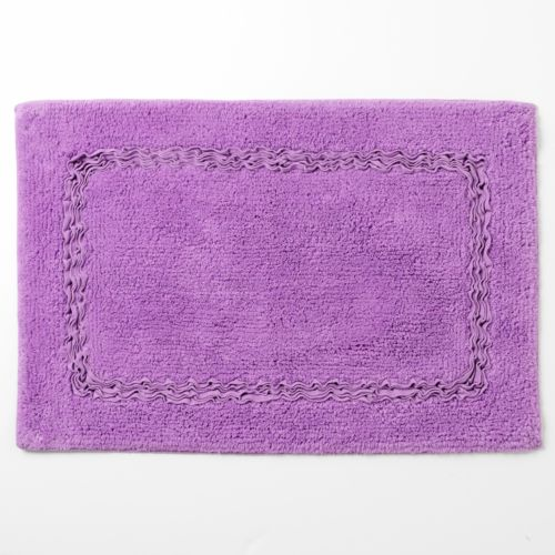 Croft & Barrow® Cora Ruffle Bath Rug