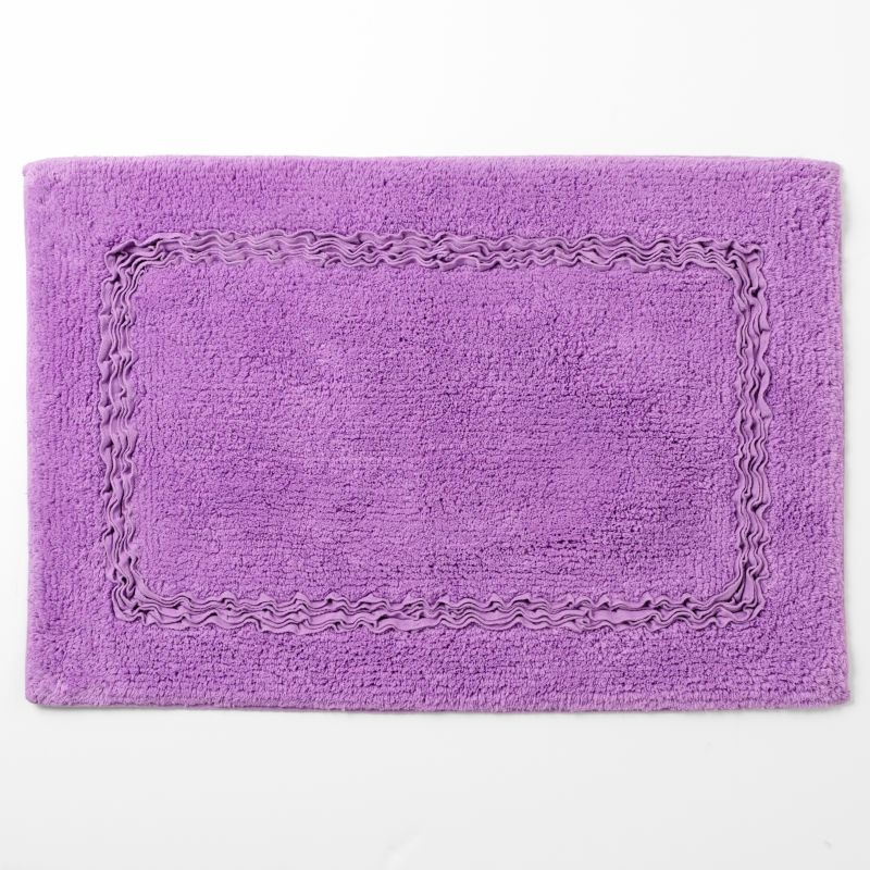 Cool Floral Bath Rugs And Mats Will Shower Your Floors With Lavender Petals And Pink Blooms Paired With Bright Potpourri Or A Floral Arrangement, Your Bathroom Decor Will Look Positively Rejuvenating Other Bathroom Rugs Include Bamboo Floor