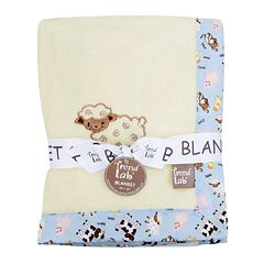 Click here to buy Trend Lab Baby Barnyard Receiving Blanket.