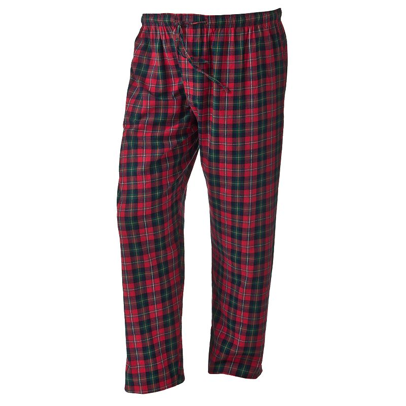 Big & Tall Residence Plaid Flannel Lounge Pants