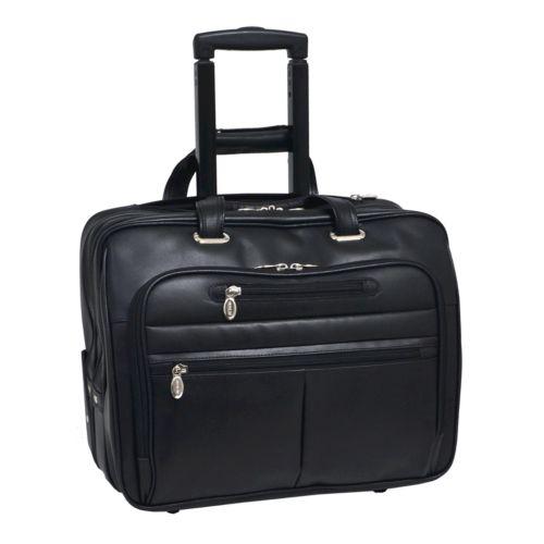 McKlein Wrightwood 17-in. Wheeled Laptop Case
